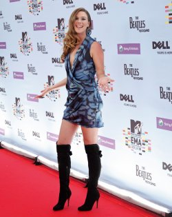Joss Stone arrives at the MTV Europe Music Awards