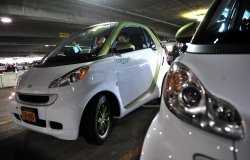 Smart EV cars in Washington