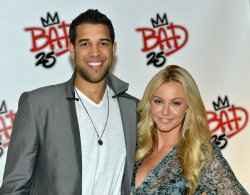 Landry Fields and Elaine Alden attend 'Bad 25' after party at the Toronto International Film Festival