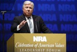 Gov. Haley Barbour speaks at National Rifle Association convention in Charlotte, North Carolina