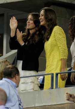 Pippa Middelton attends the U.S. Open in New York