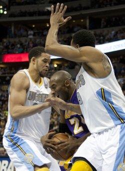 NBA Los Angeles Lakers vs Denver Nuggets