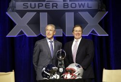 Coaches Super Bowl XLIX press conference