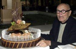 ARCHITECT PHILIP JOHNSON CELEBRATES HIS 95TH BIRTHDAY