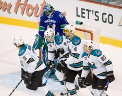 SAN JOSE SHARKS VS VANCOUVER CANUCKS