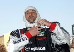 Patrick Dempsey races in Homestead, Florida