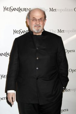 "Salman Rushdie arrives for the Metropolitan Opera premiere of ""Manon"" in New York"