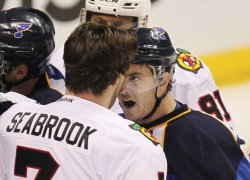 NHL to hold telephone hearing with Chicago Blackhawks Brent Seabrook on hit to St. Louis Blues David Backes