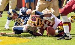 St. Louis Rams vs. Washington Redskins in Landover, Maryland