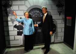 Madame Tussauds Wax Museum opends their U.S. Presidents Gallery in Washington