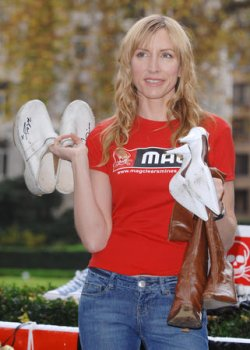 HEATHER MILLS PHOTOCALL IN LONDON