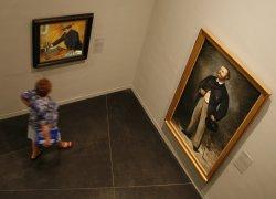 Stolen Nazi art exhibition in Paris