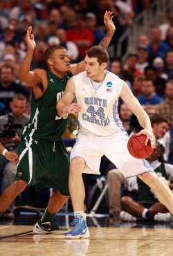 Ohio vs North Carolina NCAA Midwest Regional Basketball Tournament in St. Louis