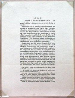 50TH ANNIVERSARY OF BROWN VS. BOARD OF EDUCATION OF TOPKEA