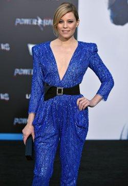 Elizabeth Banks attends the 'Power Rangers' premiere in Los Angeles