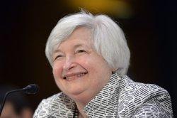 Federal Reserve Board Chairwoman Janet Yellen testifies in Washington, D.C.