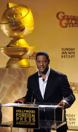 Blair Underwood announces nominations for the 68th annual Golden Globe Awards in Beverly Hills