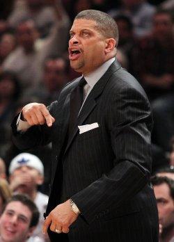 Philadelphia 76ers head coach Eddie Jordan at Madison Square Garden