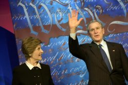 PRESIDENT BUSH ATTENDS REPUBLICAN CONGRESSIONAL COMMITTEE DINNER