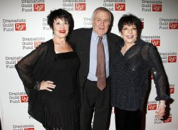 Liza Minnelli, Chita Rivera and John Kander arrive for the Dramatists Guild Fund's 50th Anniversary Gala in New York