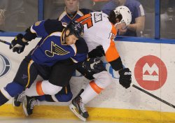 Philadelphia Flyers vs St. Louis Blues