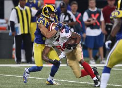 San Francisco 49'ers vs St. Louis Rams