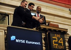 Future NBA Players Ring the Opening Bell on Wall Street in New York