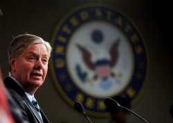 Senators McCain and Graham speak on the Hagel and Brenner nominations in Washington