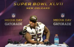 Super Bowl XLVII Media Day in New Orleans