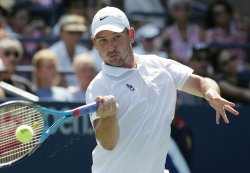 Mardy Fish and Jan Hajek compete at the U.S. Open in New York