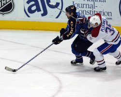 ATLANTA THRASHERS VS MONTREAL CANADIENS