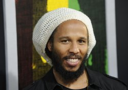 "Ziggy Marley and Orly Marley attend the premiere of the film ""Marley"" in Los Angeles"