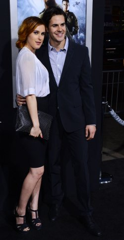 "Rumer Willis and Jayson Blair attend the ""G.I Joe: Retaliation"" premiere in Los Angeles"