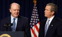 Bush names CSX executive Snow for treasury secretary