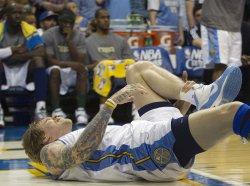 Nuggets Anderson Injures Ankle in Denver