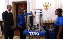 President Barack Obama hosts the 2014 White House Science Fair