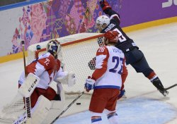 Men's Hockey USA VS Russia Sochi 2014 Winter Olympics
