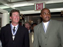 MARINO AND BARKLEY HONORED AS SPORTS LEGENDS