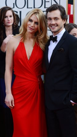 Claire Danes and Hugh Dancy attend the 70th annual Golden Globe Awards in Beverly Hills, California