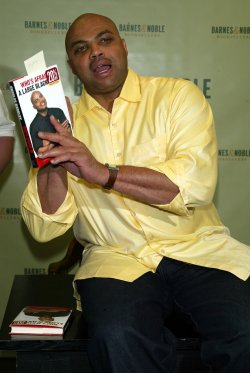 CHARLES BARKLEY BOOKSIGNING