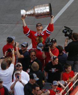 Stanley Cup champion Chicago Blackhawks parade through Chicago