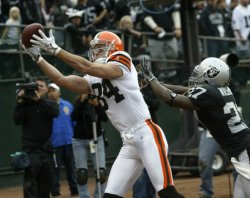 OAKLAND RAIDERS VS CLEVELAND BROWNS