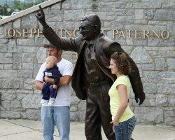 Paterno Statue Debate in State College, Pennsylvania