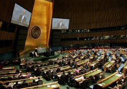 Haiti President Preval addresses General Assembly at United Nations