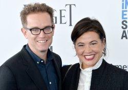 Sam Bisbee and Jackie Kelman Bisbee attend Film Independent Spirit Awards in Santa Monica, California