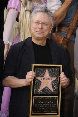 Alan Menken receives a star on the Hollywood Walk of Fame