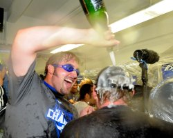Dodgers win National League Western Division title in Los Angeles