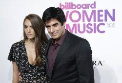David Copperfield at the Billboard Women in Music 2016
