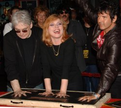 BLONDIE INDUCTED INTO HOLLYWOOD'S ROCKWALK