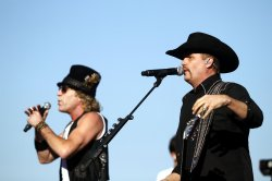 Big & Rich perform at the Charlotte Motor Speedway in Concord, North Carolina